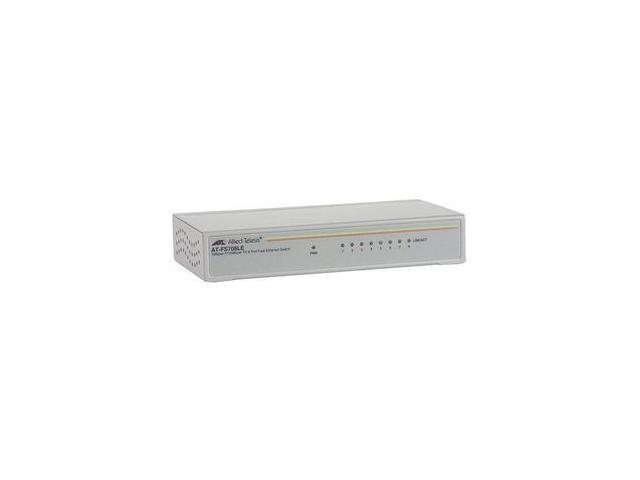 Allied Telesis AT-FS708LE-10 Unmanaged Unmanaged Switch with External NORTH AMERICA Power Supply