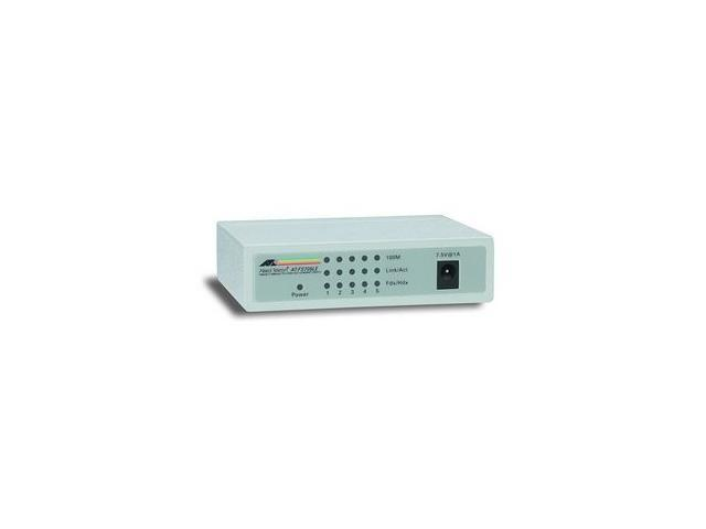 Allied Telesis AT-FS705LE-10 Unmanaged Unmanaged Switch with External Power Supply
