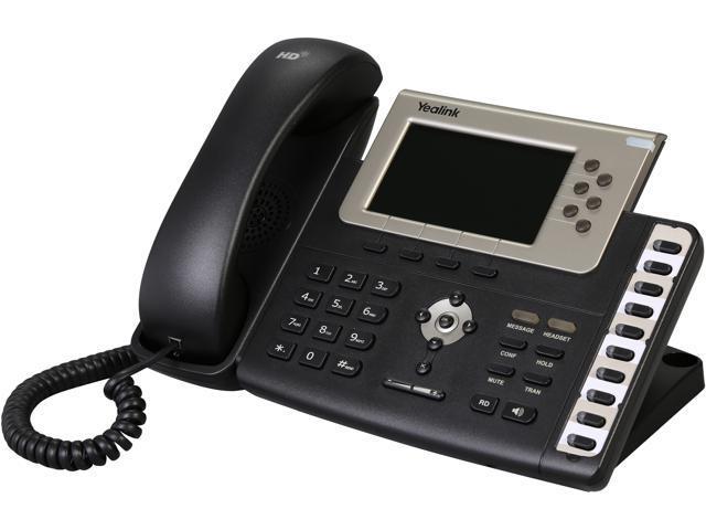 Yealink SIP-T38G Gigabit Color IP Phone