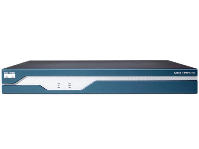 CISCO CISCO1841 Modular Router (Grade-A) 2 x 10/100Mbps LAN Ports