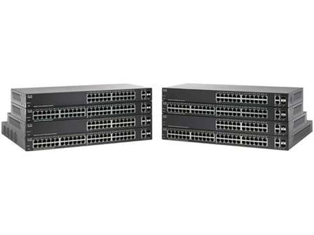 Cisco SF220-48 48-Port 10/100 Smart Plus Switch