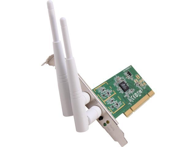 INTELLINET Network Solutions 525176 32-bit PCI Wireless 300N Card