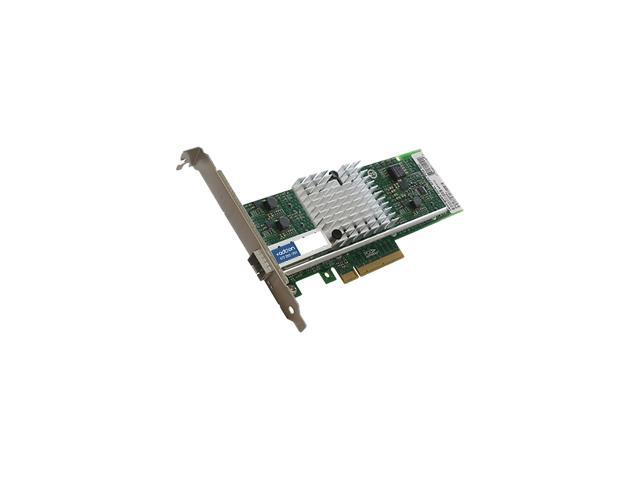 AddOn 10Gbs Single Open SFP+ Port PCIe x8 Network Interface Card