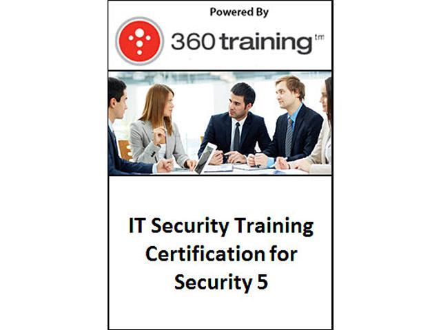 IT Security Training Certification for Security 5 – Self Paced Online Course