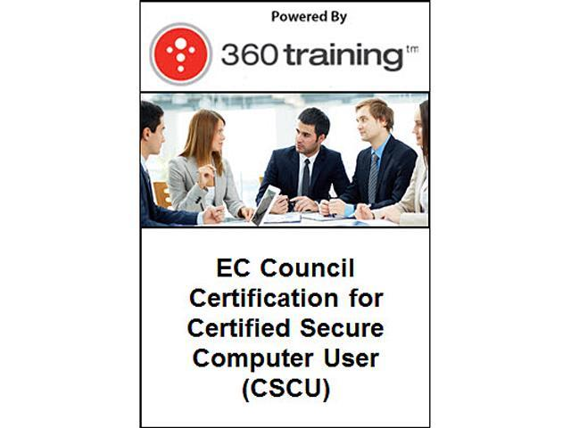 EC Council Certification for Certified Secure Computer User (CSCU)