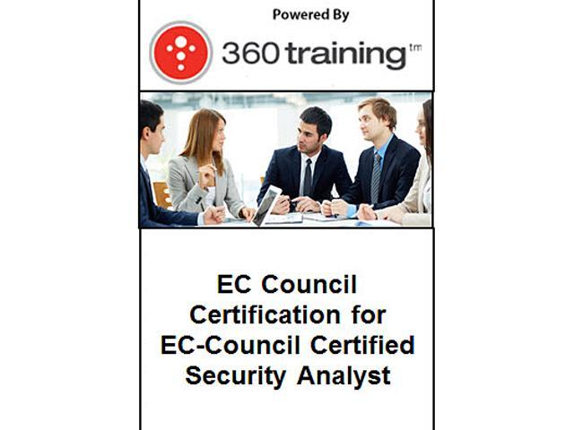 EC Council Certification for EC-Council Certified Security Analyst – Self Paced Online Course