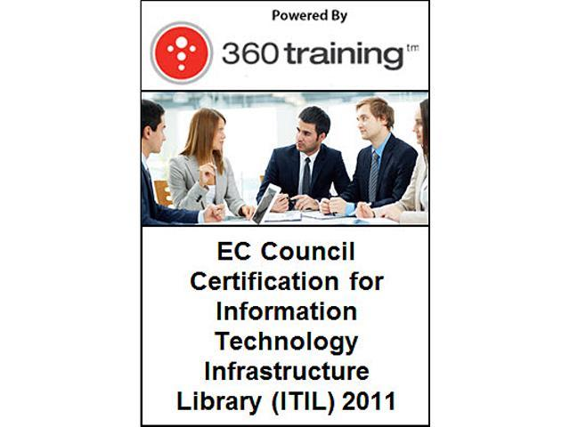 EC Council Certification for Information Technology Infrastructure Library (ITIL) 2011 – Self Paced Online Course