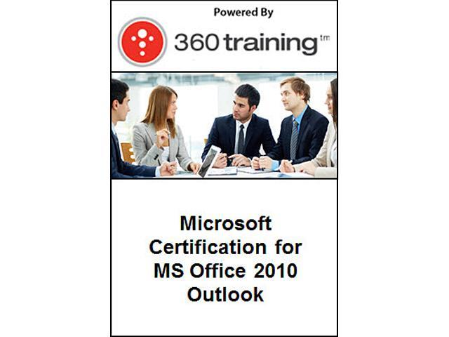 Microsoft Certification for MS Office 2010 – Outlook - Self Paced Online Course
