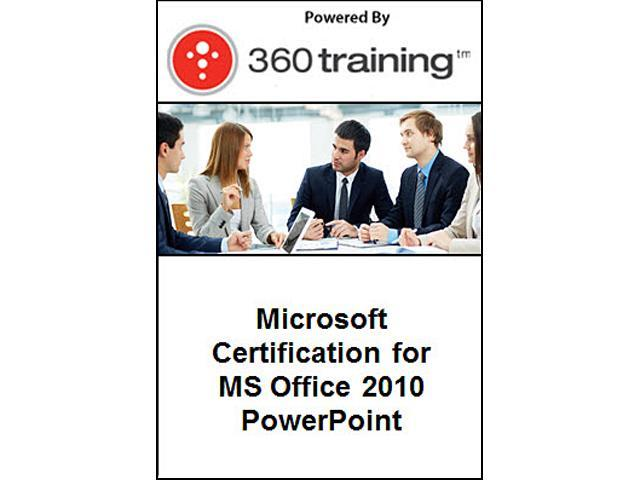Microsoft Certification for MS Office 2010 – PowerPoint - Self Paced Online Course
