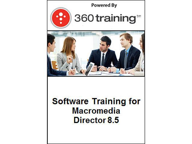 Software Training for Macromedia Director 8.5 - Self Paced Online Course