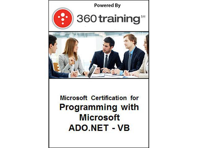 Microsoft Certification for Programming with Microsoft ADO.NET - VB - Self Paced Online Course