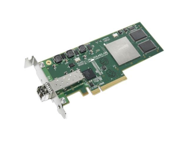 Solarflare SFN4112F 10Gbps PCI-Express SFP+ 10Gigabit Ethernet Card
