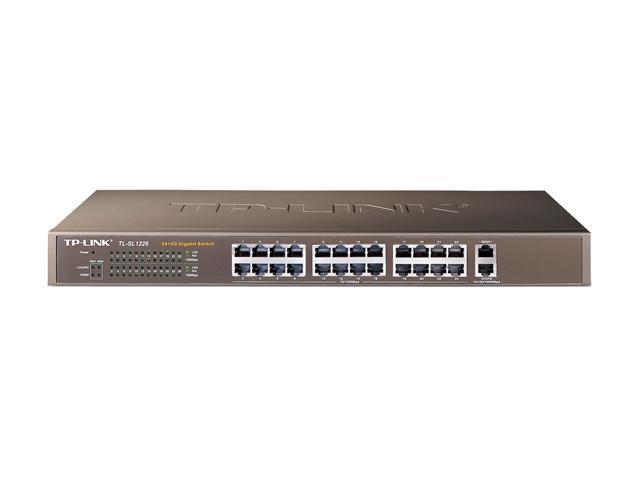TP-Link TL-SL1226 Unmanaged 24+2G Unmanaged Gigabit-Uplink Switch