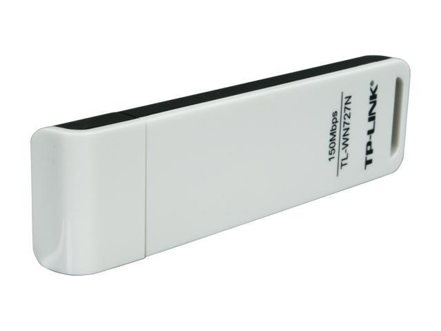 TP-LINK TL-WN727N Wireless N150 USB Adapter, 150 Mbps, w/ WPS Button, IEEE 802.11b/g/n, WEP, WPA / WPA2, Plug & Play in Windows 10 (32 bit & 64 bit)