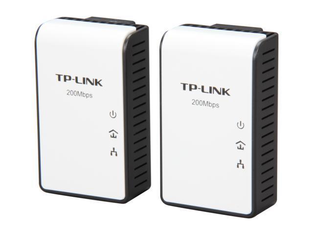 TP-LINK TL-PA211KIT AV200 Mini Multi-Streaming Powerline Adapter Starter Kit