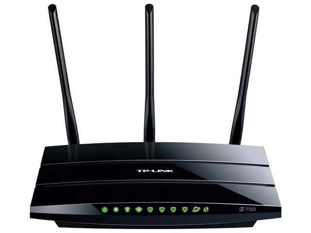 TP-LINK TL-WDR4300 Dual Band Wireless N750 Router, Gigabit, 2.4GHz 300Mbps+5GHz 450Mbps, 2 USB port, IP QoS, Wireless On/Off Switch