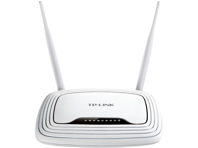 TP-LINK TL-WR843ND Wireless N300 AP/Client Router, 300Mbps, IP QoS, WPS Button