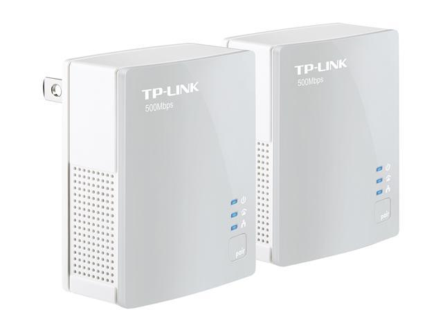 TP-LINK TL-PA4010KIT AV500 Nano Powerline Adapter Starter Kit Up to 500Mbps