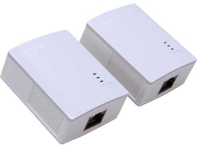 TP-LINK TL-PA4010KIT High-speed AV500 Nano Powerline Adapter Starter Kit, up to 500Mbps
