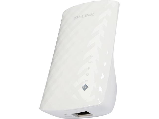 TP-LINK RE200 AC750 Universal Wireless Dual Band Range Extender (Wall Plug)