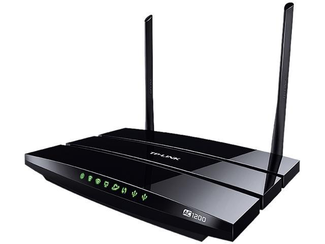 TP-LINK Archer C5 AC1200 Dual Band Wireless AC Gigabit Router, 2.4 GHz 300 Mbps+5 GHz 867 Mbps, 2 USB Ports, IPv6, Guest ...