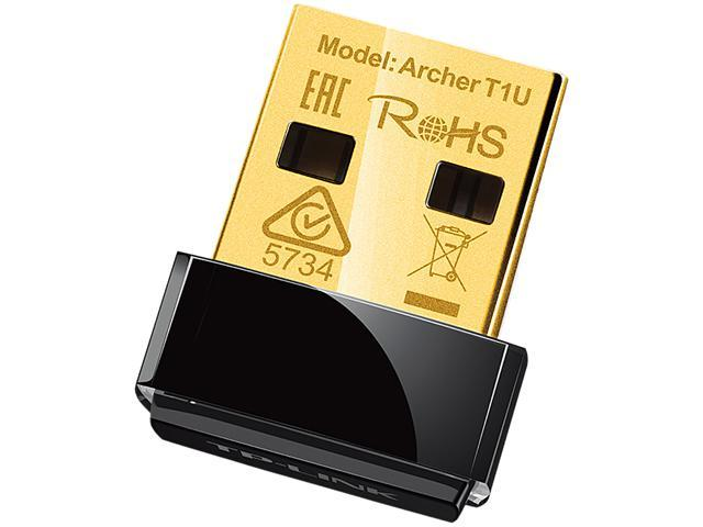 TP-Link Archer T1U PCI Express AC450 Wireless Nano USB Adapter
