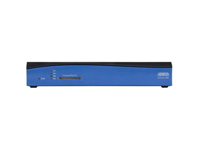 Adtran NetVanta 3430 1202820G1 10/100Mbps Modular Access Router