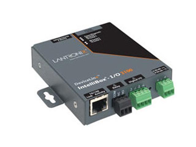 Lantronix IBIO21002-01 IntelliBox-I/O 2100 Industrial Device Server