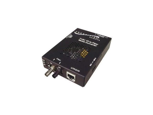 Transition Networks SSDTF1014-120-NA Point System Media Converter