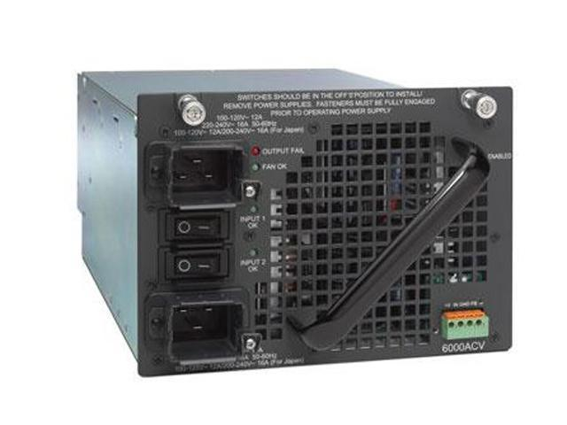 CISCO PWR-C45-6000ACV= 6000W Redundant Power Supply