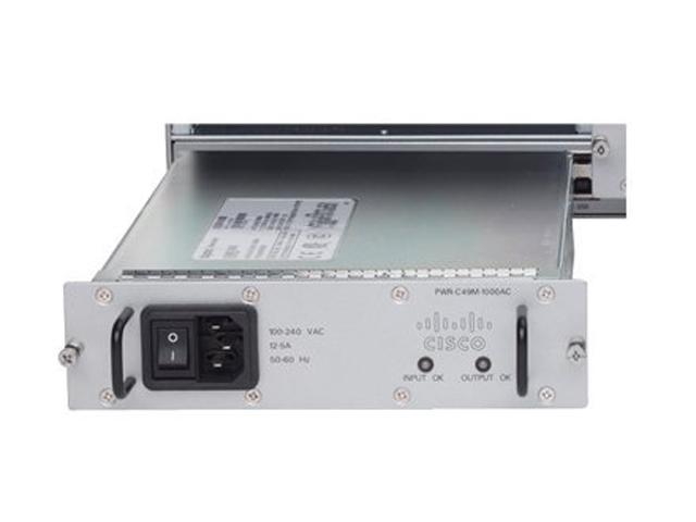 CISCO PWR-C49M-1000AC= 1000W AC Power Supply for 4900M Series