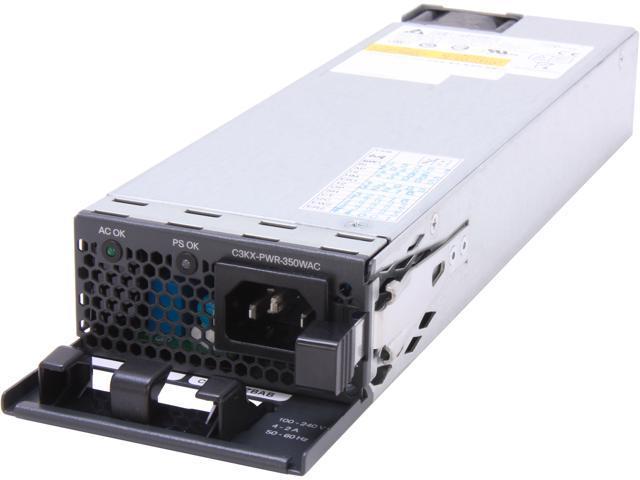 CISCO C3KX-PWR-350WAC= 350W Power Supply for 3750-X/3560-X Switch