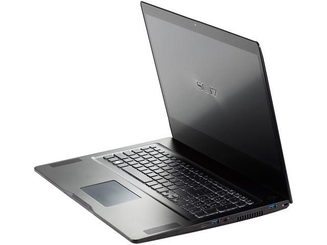 EVGA SC17 Gaming Laptop Intel Core i7 6820HK (2.70 GHz) 32 GB Memory 1 TB HDD 256 GB SSD NVIDIA GeForce GTX 980M 8 GB GDDR5 17.3