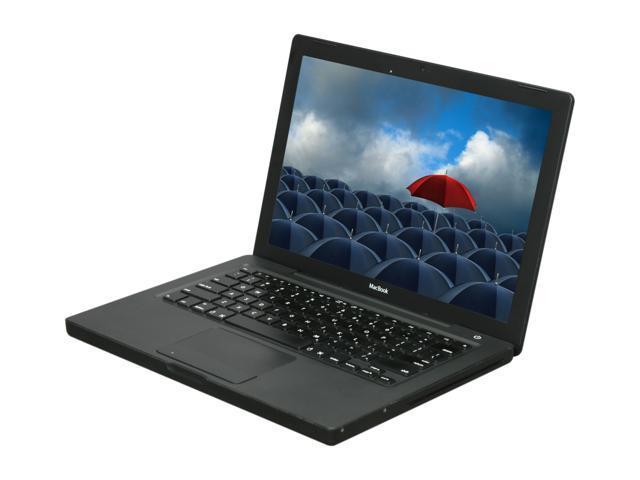 "Apple Laptop MacBook MA701LL/A Intel Core 2 Duo 2.0GHz 1 GB Memory 120 GB HDD Intel GMA950 13.3"" Mac OS X v10.4 Tiger"