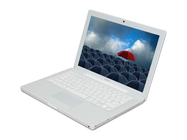 Apple Laptop MacBook MB402LL/A Intel Core 2 Duo 2.10 GHz 2 GB Memory 120 GB HDD Intel GMA X3100 13.3