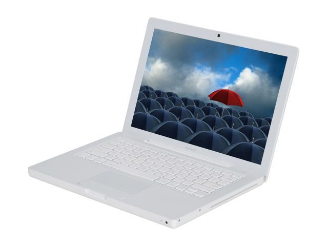 "Apple Laptop MacBook MB061LL/A Intel Core 2 Duo 2.0GHz 1 GB Memory 80 GB HDD Intel GMA950 13.3"" Mac OS X v10.4 Tiger"