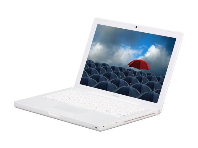 Apple Laptop MacBook MC240LL/A Intel Core 2 Duo P7450 (2.13 GHz) 2 GB Memory 160 GB HDD NVIDIA GeForce 9400M 13.3