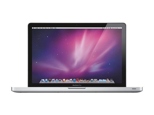 Apple Laptop MacBook Pro MC721LL/A Intel Core i7 2.00 GHz 4 GB Memory 500 GB HDD AMD Radeon HD 6490M 15.4