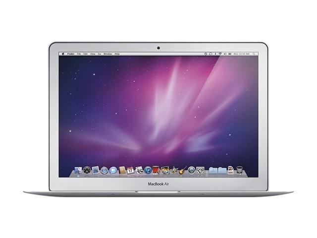 Apple Laptop MacBook Air MC504LL/A Intel Core 2 Duo 1.86 GHz 2 GB Memory 256 GB HDD NVIDIA GeForce 320M 13.3