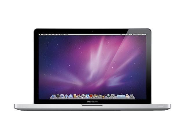 "Apple Laptop MacBook Pro MC373LL/A-R Intel Core i7 620M (2.66 GHz) 4 GB Memory 500 GB HDD NVIDIA GeForce GT 330M 15.4"" Mac ..."