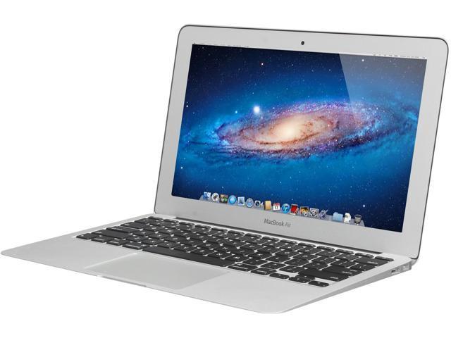 "Apple Laptop MacBook Air MC506LL/A-R Intel Core 2 Duo SU9400 (1.40 GHz) 2 GB Memory 128GB SSD HDD NVIDIA GeForce 320M 11.6"" ..."