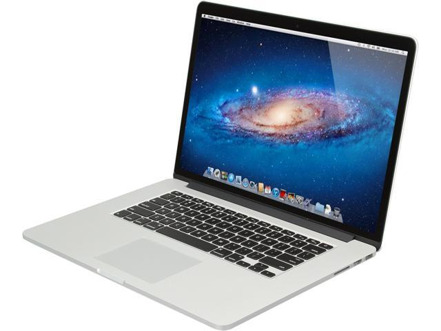 Apple Laptop MacBook Pro ME664LL/A Intel Core i7 2.40 GHz 8 GB Memory 256 GB SSD NVIDIA GeForce GT 650M 15.4
