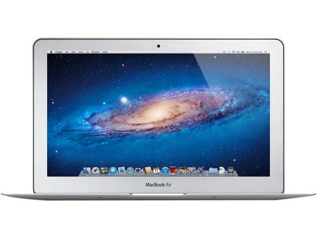 "Apple Laptop MacBook Air MD711LL/A Intel Core i5 1.30 GHz 4 GB Memory 128 GB SSD Intel HD Graphics 5000 11.6"" Mac OS X v10.8 ..."