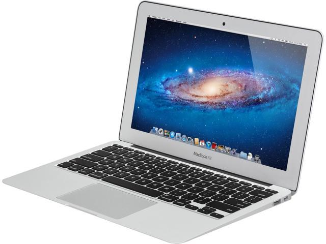 "Apple Laptop MacBook Air MD712LL/A Intel Core i5 1.30 GHz 4 GB Memory 256 GB SSD Intel HD Graphics 5000 11.6"" Mac OS X v10.8 ..."