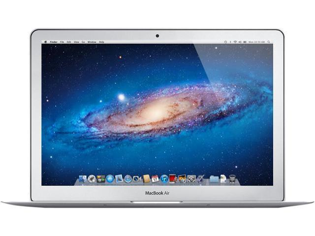 "Apple Laptop MacBook Air MD760LL/A Intel Core i5 1.30 GHz 4 GB Memory 128 GB SSD Intel HD Graphics 5000 13.3"" Mac OS X v10.8 ..."