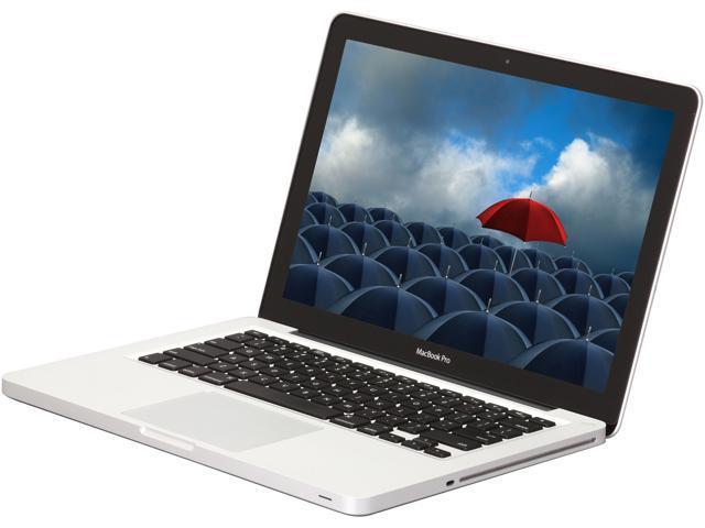 Apple Laptop MacBook Pro MC374LL/A-R Intel Core 2 Duo P8600 (2.40 GHz) 4 GB Memory 250 GB HDD NVIDIA GeForce 320M 13.3