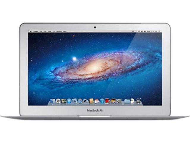 "Apple Laptop MacBook Air MD459LL/A Intel Core i5 2467M (1.60 GHz) 2 GB Memory 120 GB SSD Intel HD Graphics 3000 11.6"" Mac ..."