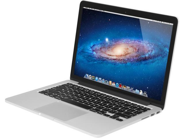 Apple MacBook Pro with Retina Display ME865LL/A Intel Core i5 2.40GHz (4th Gen Haswell) 8GB Memory 256GB PCIe-Based Flash Storage SSD 13.3