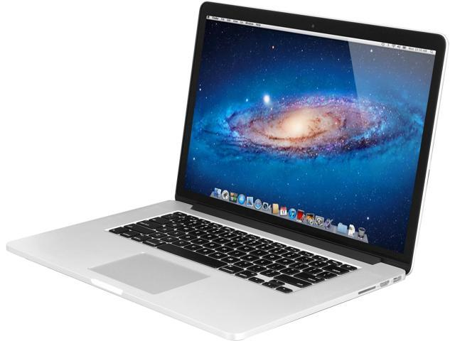 Apple MacBook Pro with Retina Display ME293LL/A Intel Core i7 2.00GHz (Crystalwell) 8GB Memory 256GB PCIe-Based Flash Storage SSD 15.4