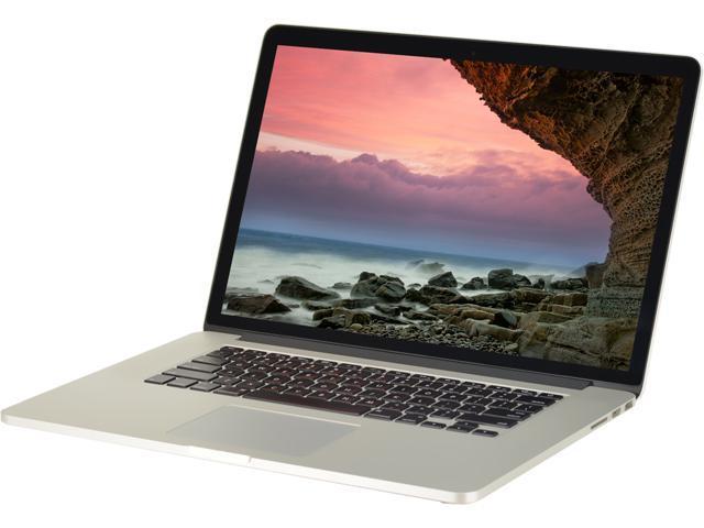 Apple Laptop MacBook Pro A1398 Intel Core i7 3615QM (2.30 GHz) 16 GB Memory 256 GB SSD 15.4